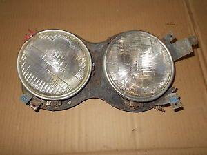 1967 Ford Galaxie Headlight Assembly Buckets Rings Brackets Custom Left