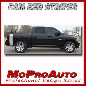 Dodge RAM Rumble Truck Bed Panel Vinyl Graphics 2013 Decals 3M Pro Stripes P55