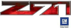 Z71 Chevy Avalanche Truck Decals Fire Red OLP003