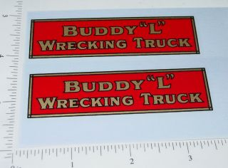 Buddy L Red Truck