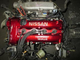 Nissan Silvia 240sx JDM SR20DE S15 Engine 6SPD Manual Trans Wire ECU Motor Sr20