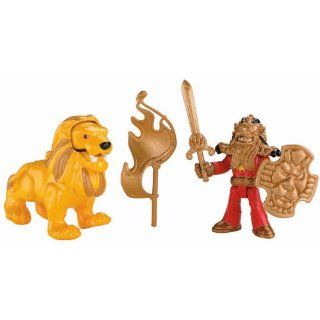 Fisher Price Imaginext Eagle Talon Castle Knight and Lion New
