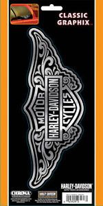 Harley Davidson Decal Chroma Graphics 3210