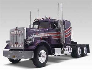 Revell 1 25 Scale Peterbilt 359 Truck Plastic Model Kit