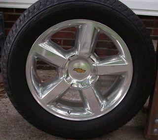 "New Chevy Silverado Tahoe Suburban Avalanche LTZ 20"" Factory Wheels Rims Tires"