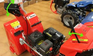 Snow Blower Thrower Farmer 6 5 HP Plough Two Stage