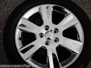 "Qty 1 19"" Dodge Journey Factory Chrome Clad Wheel Tire"