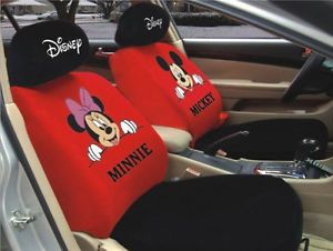 New Mickey Minnie Mouse Car Seat Cover Set 10 Pcs