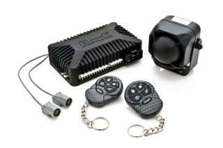 Car Alarm Remote Start with 4 Door Central Locking Kit