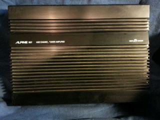 Alpine 3527 4 3 2 Channel Power Amplifier Duo B Circuit