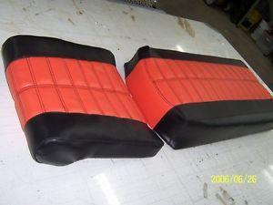 Replacement Seat Cover 1971 Moto Ski Snowmobile