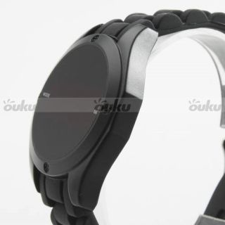 CA2 Fashion Smart Touch Screen LED Date Digital Sport Rubber Men Boy Wrist Watch