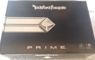 Rockford Fosgate R600 4D Car Amplifier 780687333126