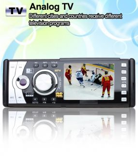 "3 5"" in Car Stereo CD DVD Player Radio USB  RDS AR"