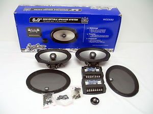 West Coast Customs WCC 690 6x9 Car Speakers