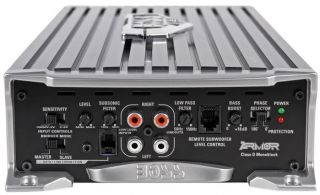 "2 Boss P106DVC 10"" Car Subwoofers Vented Sub Box 4000W Mono Amplifier Amp Kit"
