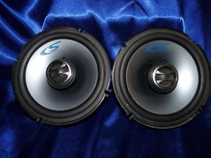 "Alpine 6 5"" SPS 17C2 Two Way Coaxial Car Speakers 250 Watts Peak 50 Watts RMS"