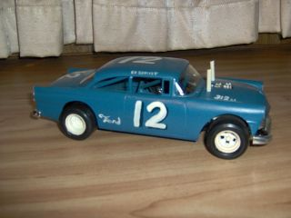 AMT 1 25 '56 Ford Early '70s Dirt Track Stock Car Junkyard Parts Car