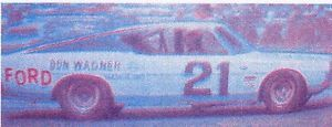 21 Jack Bowsher '69 Ford Torino 1 32 Slot Car Decals