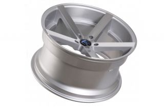 """20"""" Ford Mustang GT Rohana RC22 Concave Silver Staggered Wheels Rims"""