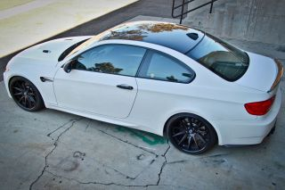 "20"" BMW E92 E93 M3 Coupe Rohana RC10 Deep Concave Silver Staggered Wheels Rims"
