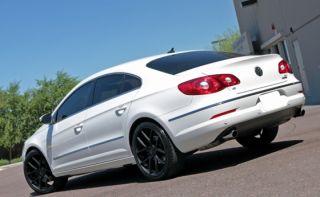 "20"" Giovanna Monza Wheels Black BMW 5 Series 528 535 550 F10 F11 Staggered 19"