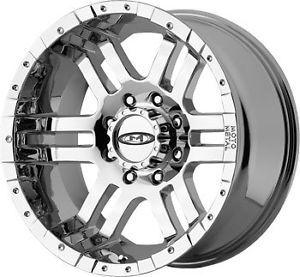 "20"" Moto Metal 951 Chrome Chevy Ford Dodge Wheels Rims"