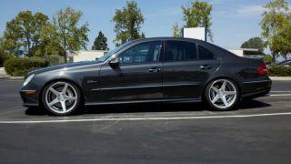 "19"" Avant Garde M550 Wheels Silver Mercedes E Class E320 E350 E500 E550 E55 AMG"