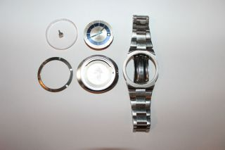 Omega Dynamic Geneve Automatic Date Vintage Stainless Steel Mens Wristwatch