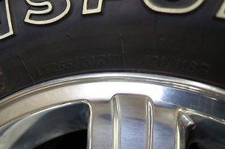 "New Dodge RAM 2500 3500 8 Lug Polished 17"" Factory Wheels Rims Tires 2003 2013"