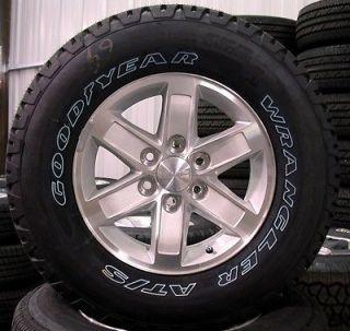 "2013 GMC Sierra Yukon 17"" Wheels Rims Tires Chevy Silverado Suburban Tahoe"