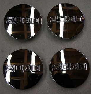 """2030 Aftermarket Chrome Center Caps for Chevy GMC Cadillac Wheels 3 25"""" FreeShip"""