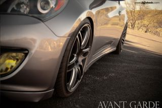 """20"""" Infiniti G35 Coupe Avant Garde M368 Concave Staggered Rims Wheels"""