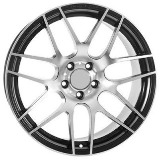 19 inch Audi Wheels Rims Factory Replica Style Matte Black