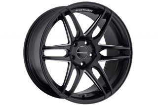 """20"""" Avant Garde M368 Black Concave Staggered Wheels Rims Fits BMW E60 M5"""