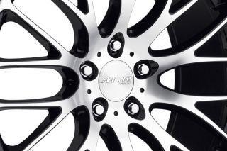 "22"" MRR HR6 Machined Wheels Rims Fits Porsche Panamera s 4S Turbo"