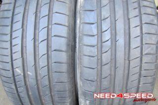 "19"" Factory AMG Mercedes Benz R231 SL550 Wheels Rims Continental Tires"