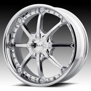 26 inch Helo Chrome Wheel Rims 6x135 Ford F150 Expedition Navigator 6 Lug