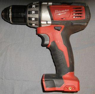 "Milwaukee M18 Li ion 2601 20 1 2"" 18 Volt Cordless Drill Driver Bare Tool"