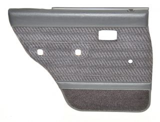 Toyota 4Runner Surf Left Rear Gray Door Panel w Arm Rest Handle 90 95