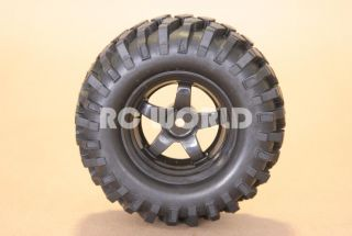 RC 1 10 Truck Tamiya Rims Wheels Tires Highlift Truck Wheels