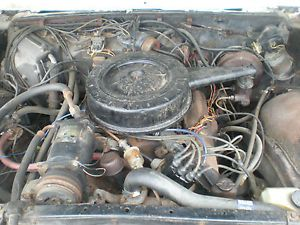 1966 67 Cadillac 429 4BBL Motor Complete Running Rat Rod Hot Rod Engine Caddy