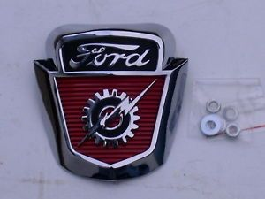 53 54 55 56 Ford Truck Front Hood Emblem New