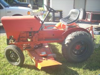 1978 Power King Economy Tractor 45965 Mower Plow Tire Chains Trailer