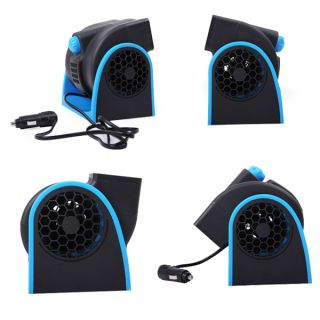 12V Car Truck Auto Vehicle Boat Cooling Air Fan Cooler Speed Speed Adjustable