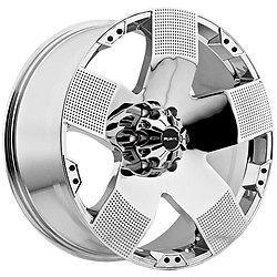20 inch Ballistic Hyjak Chrome Wheels Rims 8x170 12 Ford F250 F350 Excursion