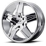 22 inch Chrome Wheels Rims Dodge Charger Challenger Chrysler 300 C Magnum 5 Lug