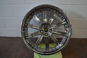 "Redbourne Baron 22"" inch Chrome Alloy Rims Wheels Range Rover Sport HSE LR3 LR4"