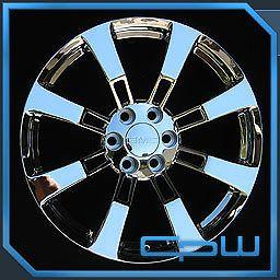 "22"" inch 22x9 GMC Yukon Sierra Denali Wheels Rims Chrome Finish New in Box"