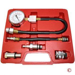Gas Engine Cylinder Compression Tester Kit Gauge Auto Motor Test